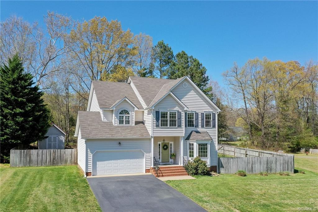 Impressive, well-maintained home in a small cul-de-sac neighborhood, only minutes away from Virginia