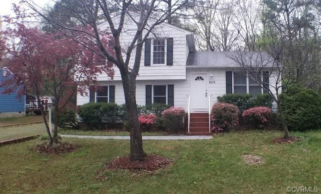 Calling all investors.  Come see this trilevel with four bedrooms and two full baths.  It features V