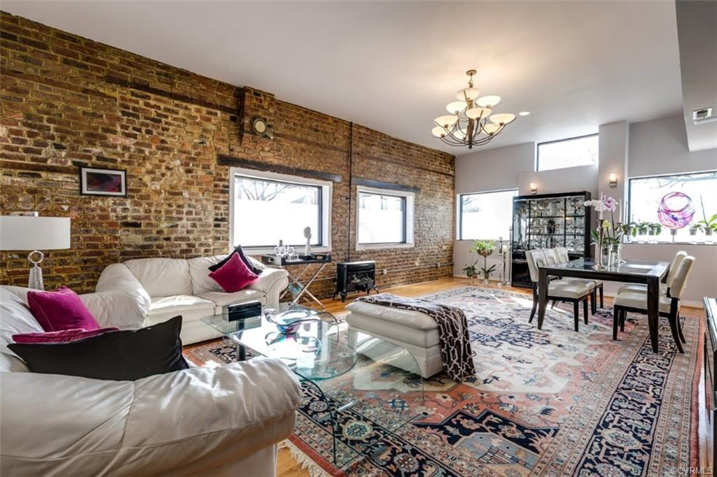 A must see in Church Hill, home has been beautifully renovated into a penthouse style luxury home wi
