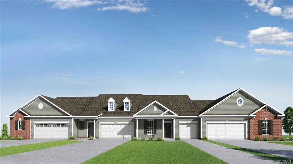 QUICK MOVE-IN! ONE-LEVEL LIVING TOWNHOMES WITH SPACIOUS BACKYARDS FOR THOSE 55 AND BETTER! The Towne