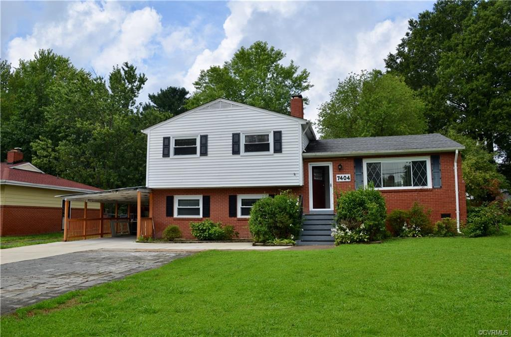 Welcome to 7404 Oak Ridge Street! This beautiful Tri-Level home is tucked in the quiet Whispering Pi