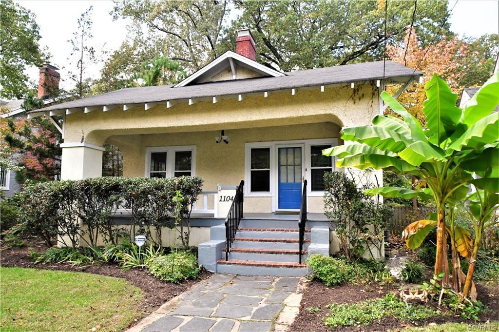 Best location in town!  A short distance to local eateries and shops, just blocks away from Forest Hill Park, 10 minutes to Downtown RVA and a short distance to the River!  Move right in to this charming Bungalow in the Forest Hill Park Area.  A Beautiful Oasis awaits in your private fenced back yard, a stone paver patio, beautiful koi pond surrounded by fig trees and plantings.  Start an herb garden or just relax and enjoy the sounds of the pond.  Inside is move in ready, with an updated eat-in kitchen with a breakfast bar, gas cooking, recessed lighting and loaded with sunlight from 2 sets of French Doors!  The Owner's Suite includes a full bath with tile shower with frameless glass door, enjoy the screened porch just thru the French Doors.  2 additional bedrooms, one is used as a closet room for the whole house, the perfect spot for your home office!  The Hall bath is complete luxury including a jetted tub and bidet.  Other extras include newer thermal windows, beautiful hardwood floors, vintage 2 paneled doors, updated lighting in many rooms, filtered water at the kitchen and the dryest basement in Richmond!  Want to close quickly, we can do it!
