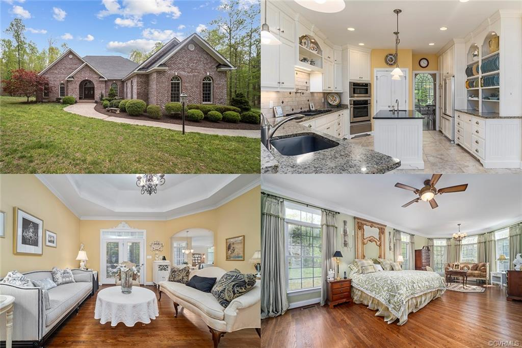 Stunning home nestled in the Maple Grove community. This home has everything. Custom built w/ many c