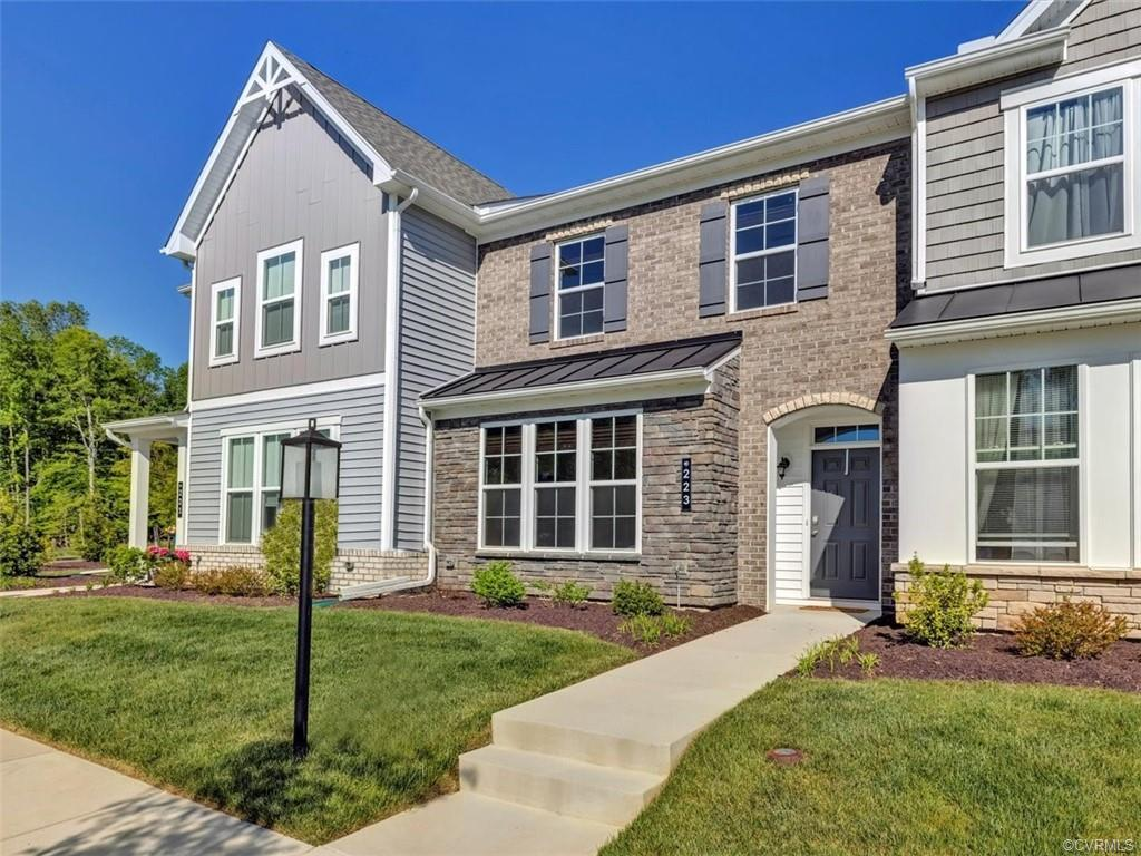 Avoid the hassle and wait involved with new construction! This beautiful turn-key townhome in the ex