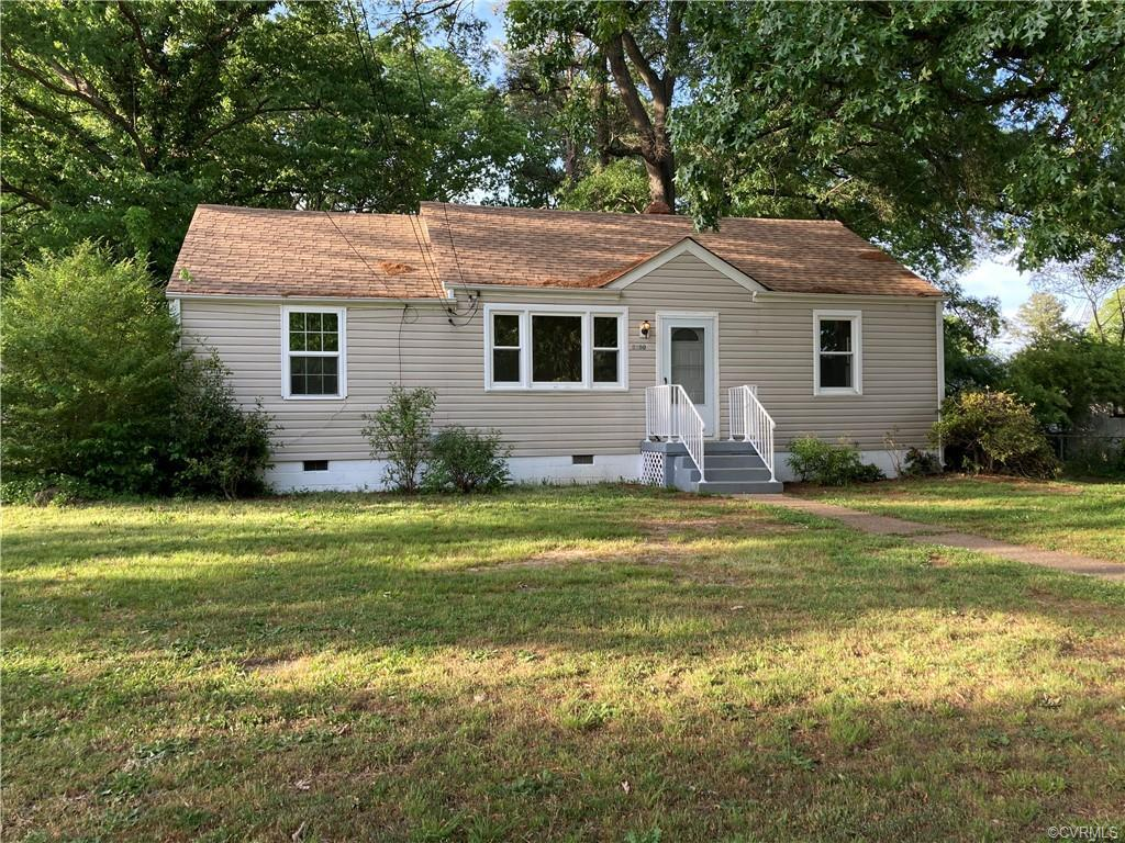 MOVE-IN ready FULLY RENOVATED 3 bedroom one full bath home near McGuire Hospital.  NEW ROOF fall 202