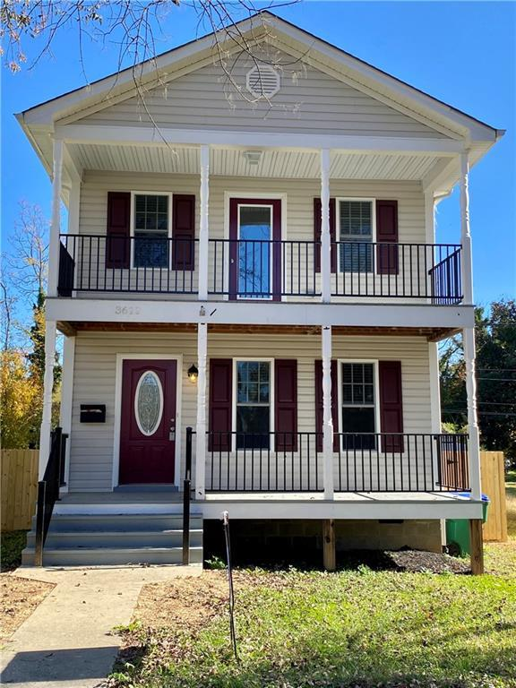 SEE THIS REMODELED HOME TODAY, FEATURING A DOUBLE FULL FRONT PORCH, OPEN LIVING AND DINING ROOMS, EA