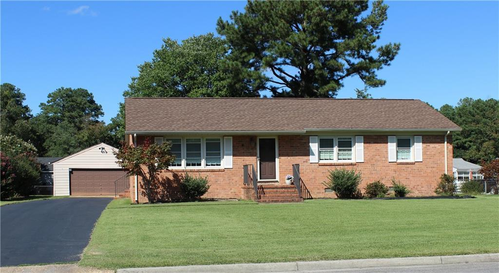 Welcome Home!  This Brick Rancher with 3 Bedrooms and 2 Full Baths is located in the Atlee High Scho