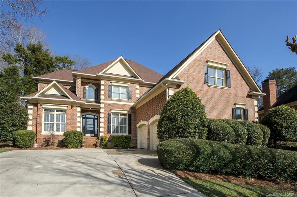 Ballantyne Country Club GEM! Property is Perfectly located on a large cul-de-sac lot with private ba
