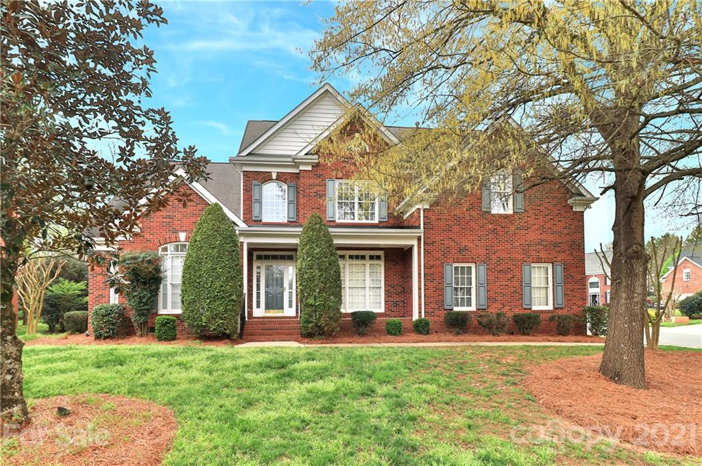 Lovely all brick meticulous home in the popular Blakeney area.  Hardwoods on the main except master