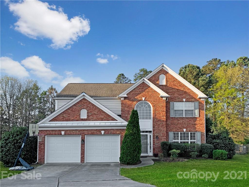 Hard to find, almost 1/2 acre fenced level yard on a cul-de-sac lot in desirable Ballantyne area nei