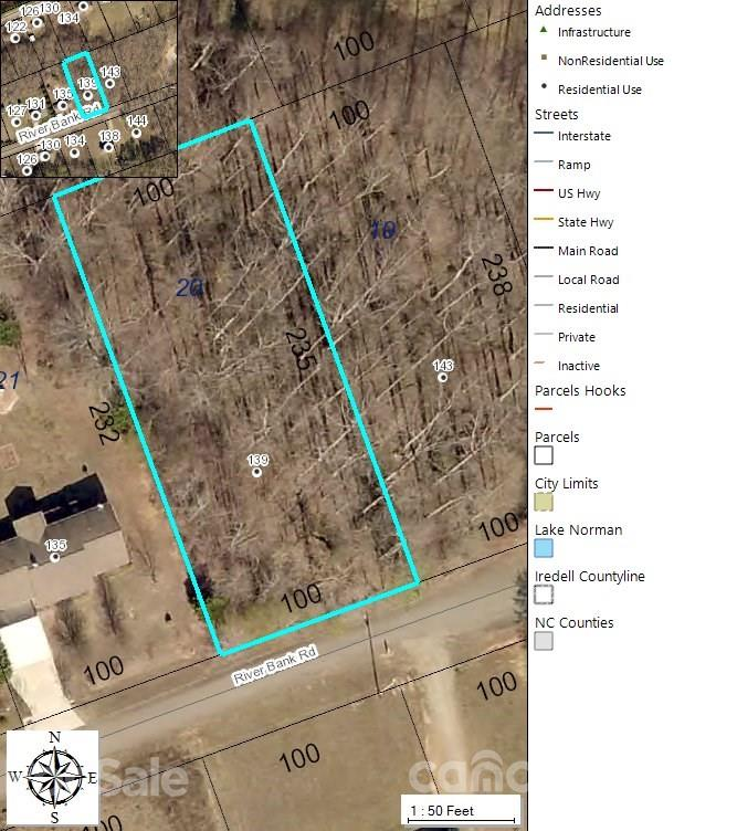 Residential home site in Iredell County. 1000 square foot minimum to build. No mobile homes permitted.