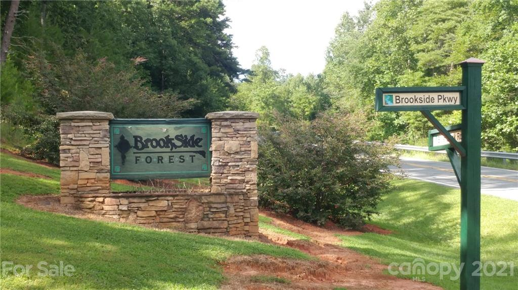 Welcome to Brookside Forest in Lake Lure! 2.66 Acres awaits you, for your Dream Mountain Home! Buyers responsible for Septic & Well Permits. The Neighborhood offers a Beautiful Rock and Iron ~ Private Entry Gate. The Private Roads are Paved to the Property. No Gravel! Only a few homes have been built to date. This Property is Priced to Sell, at Tax Value!