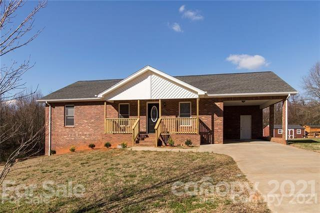 PRICE LOWERED FULL BRICK  RANCH PLAN WITH PARTIALLY FINSIHED BASEMENT!!! FEATURES AND UPGRADES INCLUDE GRANITE COUTERTOPS CUSTOM TILE BACKSPLASH HARDWOOD FLOORS FRONT PORCH AND BACK DECK- STORAGE ROOM OFF OF CARPORT - UNFINISHED BASEMENT  NEW HVAC  NEW HEAT PUMP NEW DUCTWORK NEW THERMOSTATE IN JULY OF 2020. HOT WATER HEATER SERVICED 2020  NO HOA'S ATT&T & SPECTRUM AVAILABLE . WOODED AND PRIVATE BUFFER AT BACK HUGE CONCRETE /PATIO/PAD OUTSIDE OF BASEMENT AREA. SELLERS ARE HAVING CARPETS CLEANED AND AREAS PAINTED.  MOVE IN READY!!
