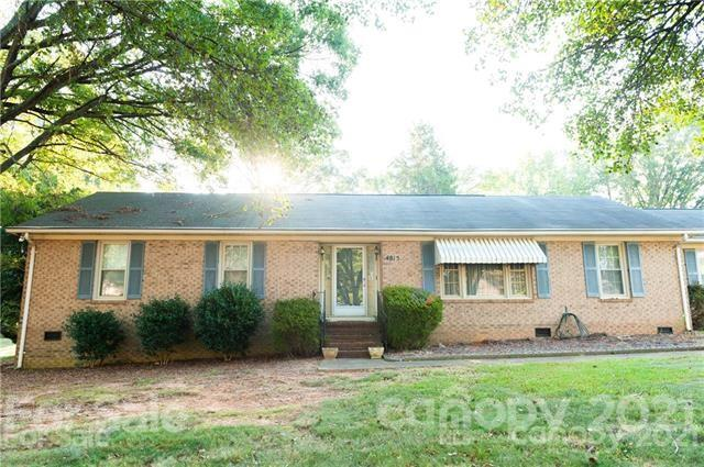 BACK ON THE MARKET NO FAULT OF SELLERS Spacious Full Brick 3 bedroom 2 baths Ranch with  nearly 2000 heated square feet.  Enclosed screened porch. Den with Fireplace . Separate large Dining and living Room areas ..  Abundant parking with Two Car back loaded garage. This Home will not last.  Great location with quick access to downtown charlotte. Quiet tree lined streets with NO HOA Fees. Great Price ! AS IS SELLER WIL MAKE NO REPAIRS  Please submit  Highest and best by 8pm on 9/13