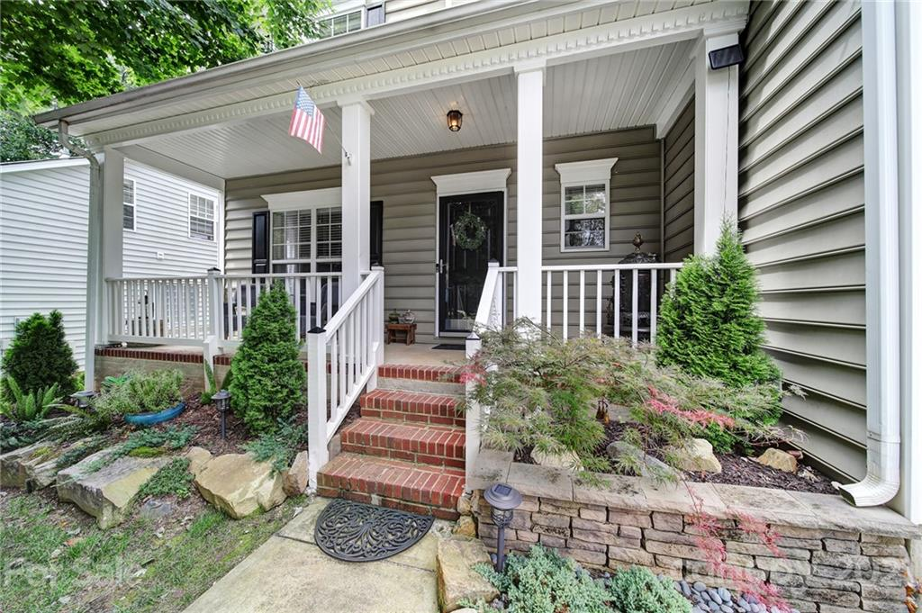 Move-in ready home in South Charlotte near Ballantyne. Updates extend to the manicured, custom backy