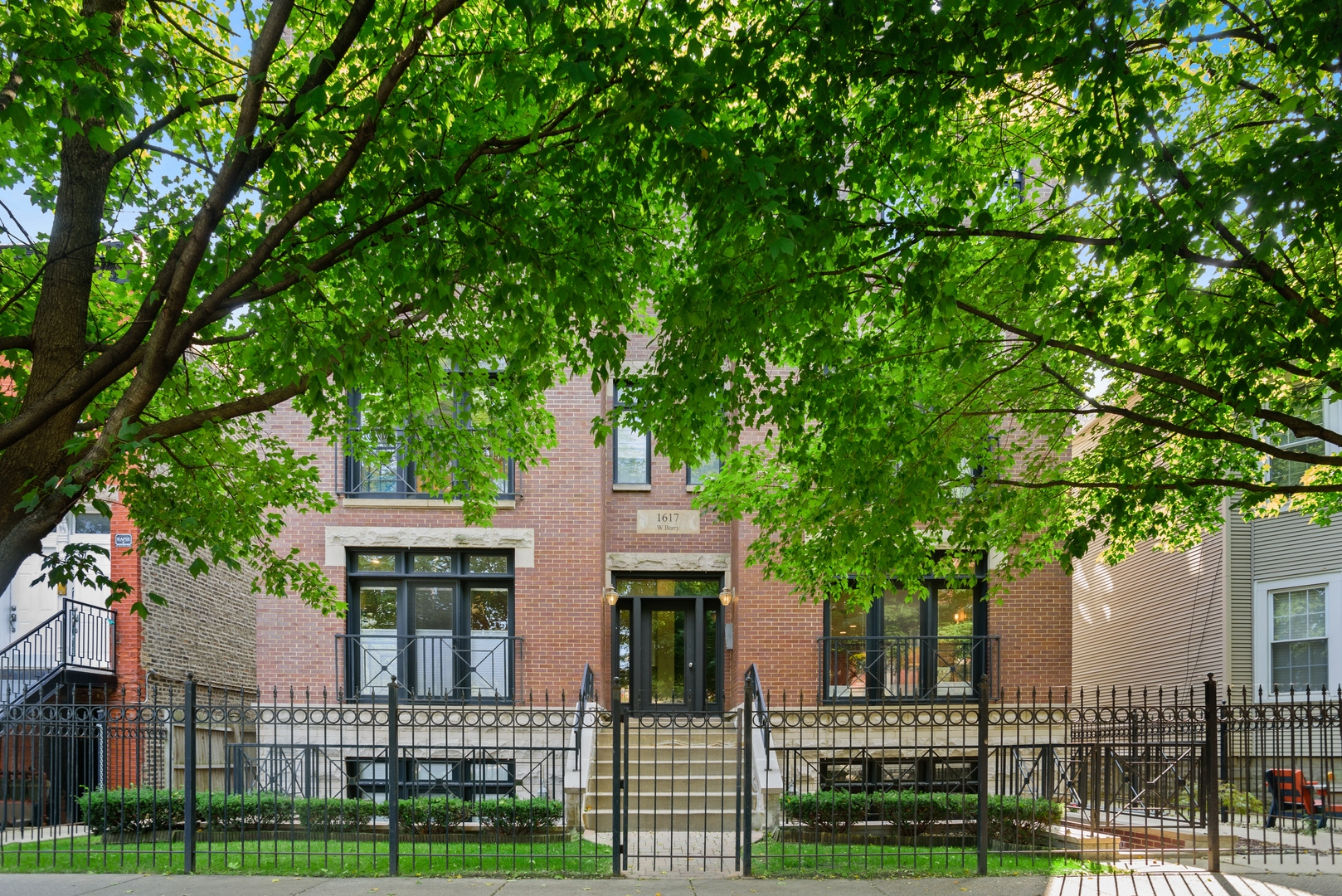 Inviting duplex-down in solid six-unit building in terrific location - one block from Whole Foods an