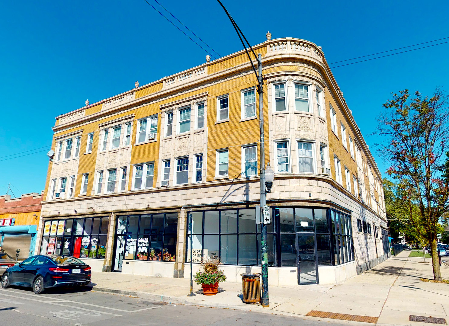 This magnificent 20 residential unit 6 commercial store front property is a rare opportunity. Separa