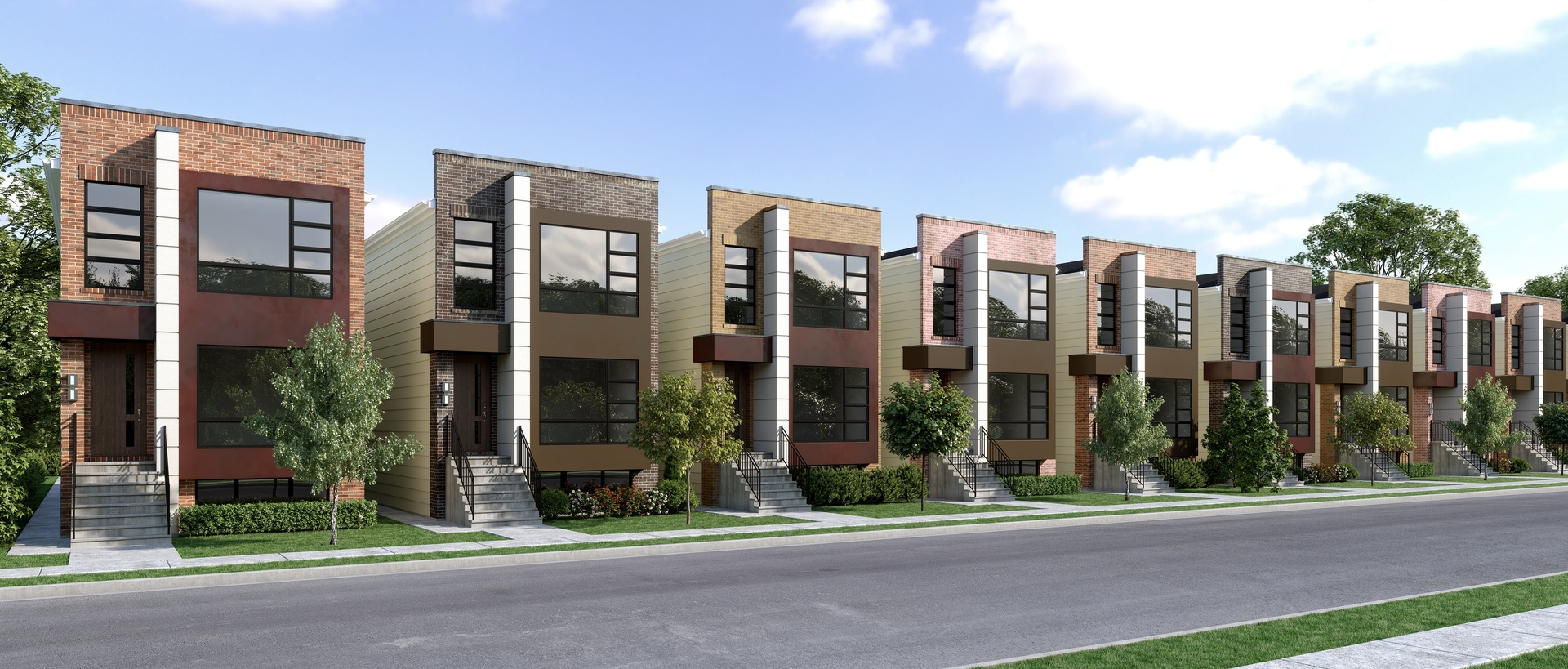 Pre-construction is the time to have it your way! Ask us how!!! Nine beautiful homes with fresh cont