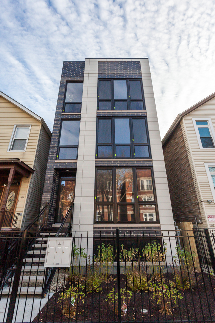 The last unit left!  A unique opportunity to own a NEW CONSTRUCTION 3 bedroom condo in exciting West