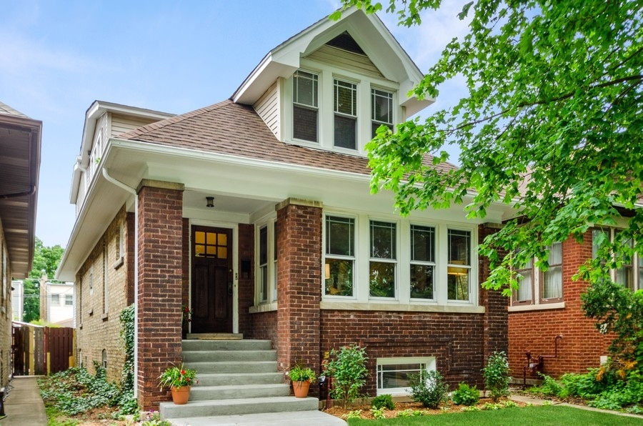 VINTAGE CHARM AND MODERN UPDATES COME TOGETHER IN THIS GORGEOUS NORTH MAYFAIR BRICK BUNGALOW!!  THIS